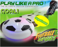 air hover - Magic Hover Air Suspension Ball Mini Indoor Floating Foam Soccer Football with led Toys For Kids Safe Half Balls
