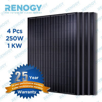 automobile pc - 4 Renogy Watts Volts Monocrystalline Solar Panel