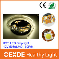 Wholesale 10M Roll SMD LED Flexible Strip Light V Red Blue White Warm Yellow Green Single Color Non Waterproof Strip Lamp Led Ribbon Oexde