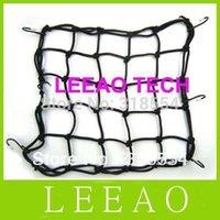Wholesale 140pcs LEEAO x30CM Motorbike Motorcycle Cargo Hooks Hold Down Net Bungee Helmet Web Mesh