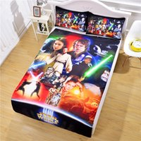 cozy - Panic Buying Star Wars Bedding The Force Awakens Christmas Gifts Cozy Bed Sheet Set for Family Bedclothes Twin Full Queen
