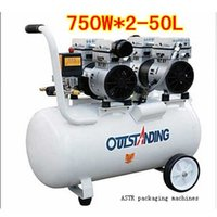 ac compressor oil - Portable oil free compact W L Silent air compressor pump