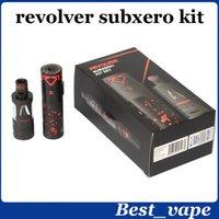big revolvers - Big Vaporizer ATOM Revolver Subxero Kit Popular Sub Ohm E Cig Revolver Subxero Kit ASSASSIN Sub TANK Revolver Battery Mod Kit