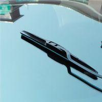 Wholesale 20 inch Universal U type Wiper Frameless Car Windshield Wiper Blade Bracketless Soft Rubber Blade Windscreen Hot selling