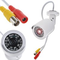 Wholesale 1 quot Color Sony CMOS TVL Wide Angle Lens Bullet Security Camera Vandalproof Waterproof
