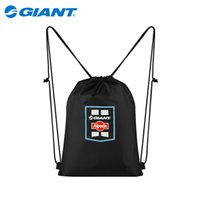 Wholesale GIANT ALPECIN GIANT TEAM LIMITED EDITION BAG Cycling Foldable Backpack Ultralight Portable Bicycle Accessories Black Backpacks