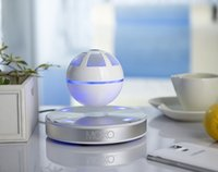 automatic player - MOXO Wireless Bluetooth Magnetic Levitation Speaker Floating Rotating Speaker With NFC Funtion Automatic Magnetic Adsorption Free DHL