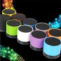 cheap mini computer - Led Speaker Bluetooth Speakers S10 Wireless mini Portable Phones Computer Speaker TF Cheap Out Door Loud Speaker