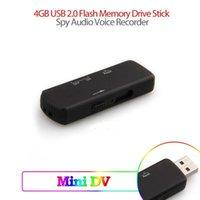 usb memory stick driver - Mini audio recorder G USB Flash Memory Driver Stick gravador de voz USB Digital Audio Voice Recorder With hidden microphone