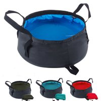 backpacking store - Outdoor Unfolding Wash Basin Bucket Footbath for Camping Hiking Travel Folding Water Bag Foldind Design and easy to store A004