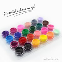 Wholesale Brand Color ml Nail Art Solid Pure Led UV Gel Builder Gel T009