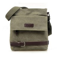 Wholesale 2016 New Fashion Men Canvas Military Bag Casual Travel Bags One Shoulder Cross body School Messenger Bag Unisex Z M0701
