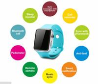 Russian gps kids tracker watch - Smart Watch Bluetooth D smartwatch MTK6260 wearable bracelet D Watch Wrist Watch for Smart phones for Android mobile Dwatch VS U8
