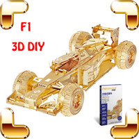 big racing games - New Arrival Gift F1 D Metal Model Race Car Alloy Collection Toys Home Decoration DIY Assemble Game Car Fans Present