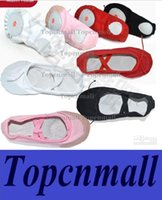 Wholesale Child Adult Ballet Dance Shoes Ballet Pointe Shoes Split Sole slipper Fitness Gymnastics Canvas