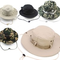 fishing hat - Colorful Outdoor Hiking Fishing Hats Boonie Snap Brim Bucket Hat Sunbonnet