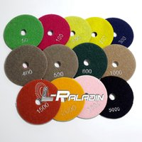 wet grinding - 4 quot Diamond Flexible Polishing Pad Wet Grinding Disc for Marble Stone Glass Ceramics