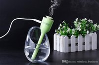 Wholesale Mini Humidifier USB Mist Maker Fogger Electric Aroma Diffuser Essential Oil Humidifier Nebulizer