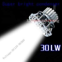 Wholesale 30W Ultrabright Motorcycle LED lights Built led motorcycle headlight conversion
