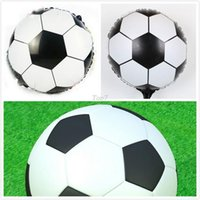 balloon football balloons - Christmas gifts quot Round soccer Football balloons Inflatable toys for children games Kids birthday party decorations