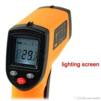 Wholesale 1 GM320 Non Contact Laser LCD Display Digital IR Infrared Thermometer Temperature Meter Gun Point Degree A5