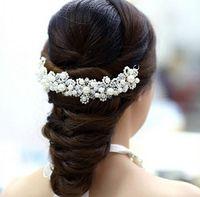 Tiaras&Crowns hair sparkle - 2015 Wedding Headdress Bridal Tiaras white Crystals Hair Accessories Sparkling Rhinestones Bridal Headpiece Headwear tiaras crowns TS15