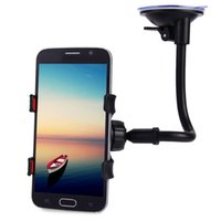 Wholesale Universal Degrees Rotation Long Arm Car Windshield Holder Mount Bracket Stand for Cell Phones