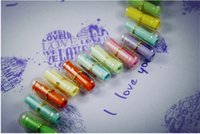 Wholesale 2015 Latest Message Capsule Letter Paper Colorful Writing Paper Special Gift for Children Friends