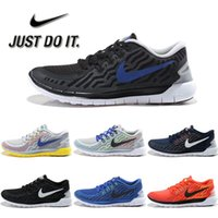 Wholesale Nike Men s Free Running Shoes Original Jogging Shoes Breathable Lightweight Walking Shoes Net Surface Sport Shoes