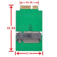 add sata - Extreme M NGFF SATA mm For Apple Macbook Air A1369 A1370 SSD Add on Cards PCBA