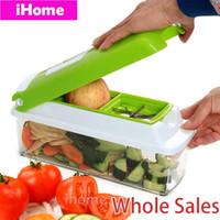 fruit cutter - 12pcs Set Genius Kitchen Cuisine Vegetable Grater Nicer Dicer Plus Food Cutter r Fruit Salad Maker Shreddfers Slicers Chopper Dicing Peele