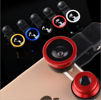 Bluetooth Wireless Standard IPad & Tablet Cell Phone Fish Eye Lens Universal 3 in1 Clip On Camera Lens Kit Wide Angle Fish Eye Macro For Iphone Samsung Smart Phone