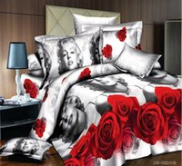 Wholesale Marilyn Monroe D King Size All Bedding Set Duvet Cover Pillow Quilt Top