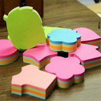 bears memo pad - 10pcs cm pages various shapes sticky note four color mixed memo pads office or school supplies