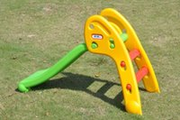 Cheap playground plastic slide Best playground slide