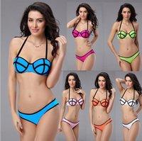 Cheap 2015 New Arrivals Women Triangl Swimwear Sexy Bikini Swimsuits Fashion Style Swimming Cloth for Women 0361