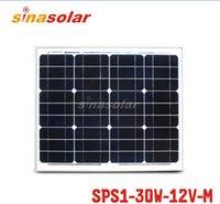 Wholesale 30W V Module Monocrystalline Solar Panel