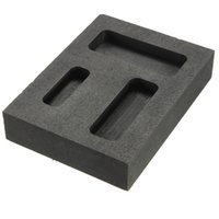 Wholesale Silver Gold Melting Casting Refining Scrap Graphite Ingot Bar Combo Mold