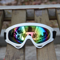 Wholesale 1 pc new arrival Outdoor riding motorcycle goggles motocross anti wind mirror tactics protective glasses retail