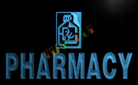 bar drugs - LB146 TM Pharmacy Shop Drug Stores RX Neon Light Sign Advertising led panel jpg