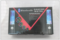 Wholesale Bluetooth Dancing water speaker speakers with nice retail box Music Fountain For iPhone iPod iPad Computer Laptop MP3 MP4 MP5 PSP Phone