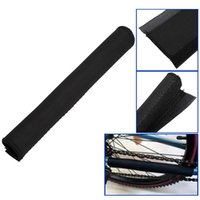 bicycle chain care - 2Pcs Hot Sale Black Bicycle Cycling Road Paste Care Bike Chain Stay Posted Frame Protector Guard Cover Guard Sleeve