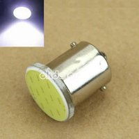 Wholesale 1 New Super Bright White BA15S COB LED Bulbs RV Trailer Truck Interior Light car styling