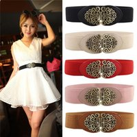 elastic belt - New Arrivals Womens Lady Girls Thin Belt Waistband Cinch Fashion Retro Elastic Stretch IX241