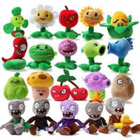 fashion dolls - Plush Doll PLANTS vs ZOMBIES Cute Soft Kids Plush Toy Children Lovely Fashion Creative Personality Boys Girls Funny Birthday Gift Nano Doll