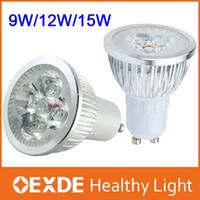 Wholesale High power CREE W W W mini rohs spotlights Dimmable GU10 MR16 E27 E14 B22 led Light Lamps ceiling bulb pendant