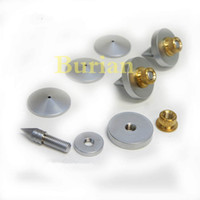 audio turntable - 4PCS mm High End Speaker Amplifier Turntable Record Isolation speaker Spike Spikes Feet