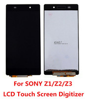 Wholesale For Sony Xperia Z1 mini Z2 Z3 mini L39h C6902 C6903 C6943 D6502 D6503 D6543 D6603 LCD Display with Touch Digitizer Screen Assembly