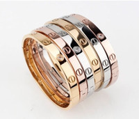 Wholesale 18KGP Fashion costume jewelry K rose gold plated lover bangle gift for women mix color