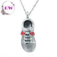 alloy shoes - shoe charms silver pendants for necklaces silver charms fit charm bracelets No90 PETY001